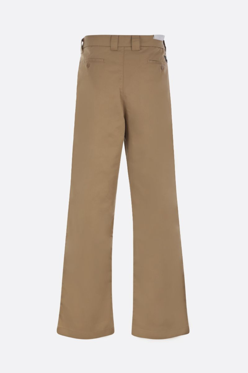 LEVI'S MADE & CRAFTED: realxed-fit gabardine chinos Color Neutral_2