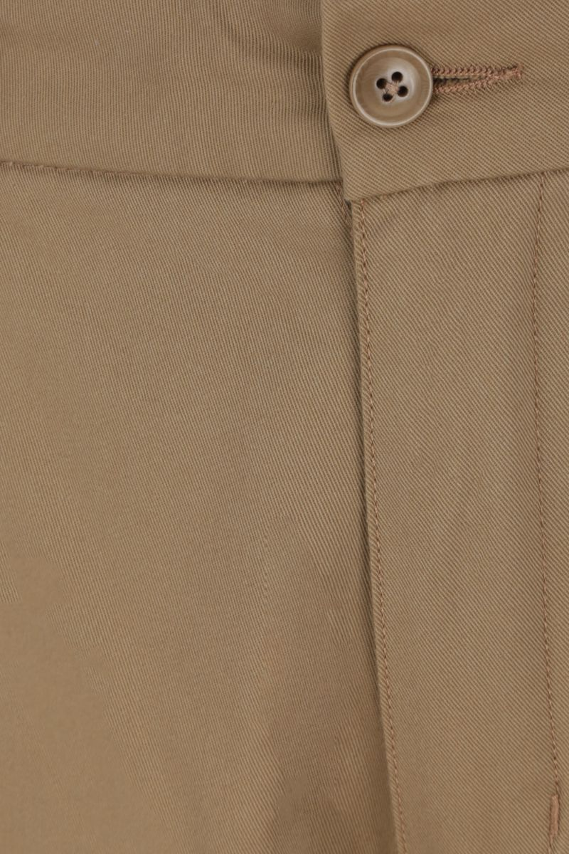 LEVI'S MADE & CRAFTED: realxed-fit gabardine chinos Color Neutral_3