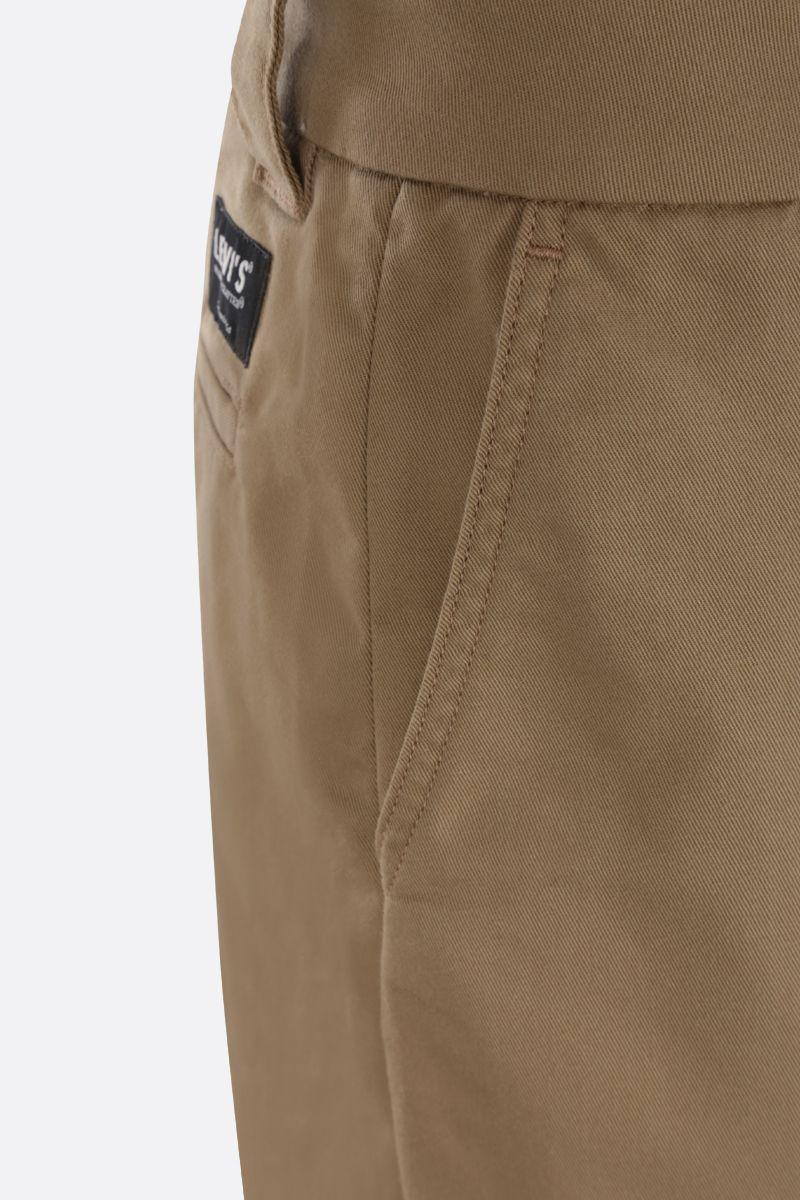 LEVI'S MADE & CRAFTED: realxed-fit gabardine chinos Color Neutral_4