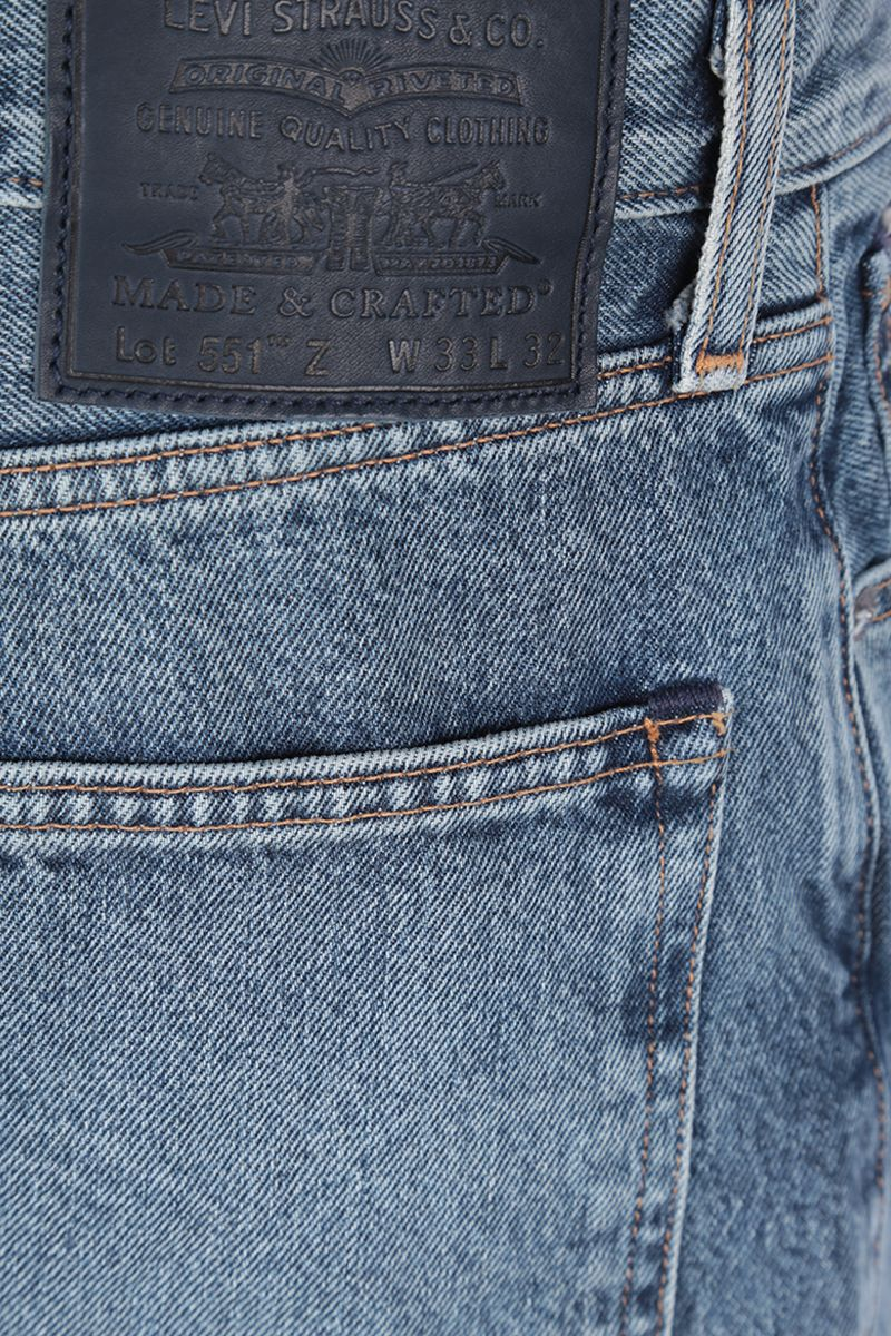 LEVI'S MADE & CRAFTED: jeans 551™ Z Colore Blue_4