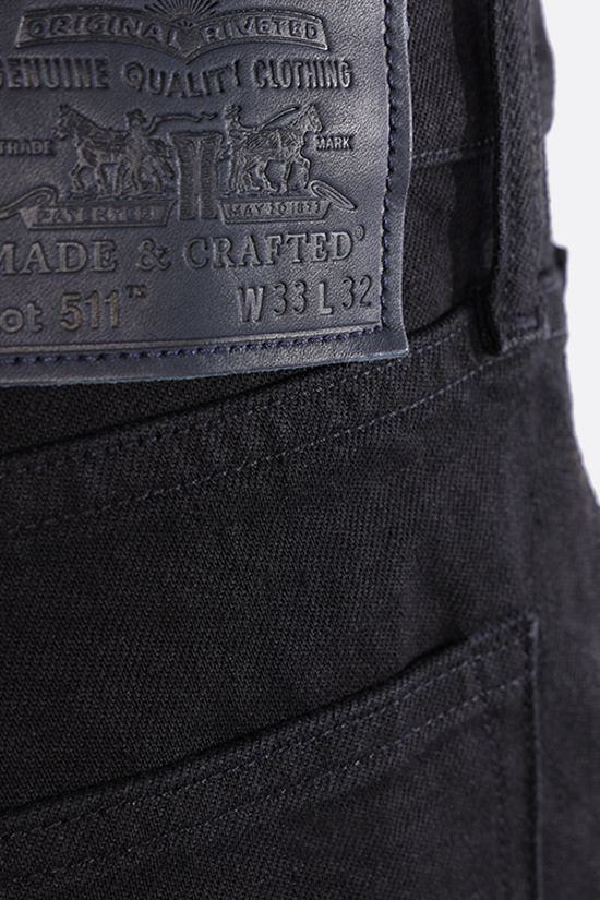 LEVI'S MADE & CRAFTED: jeans 511™ Slim Colore Black_4
