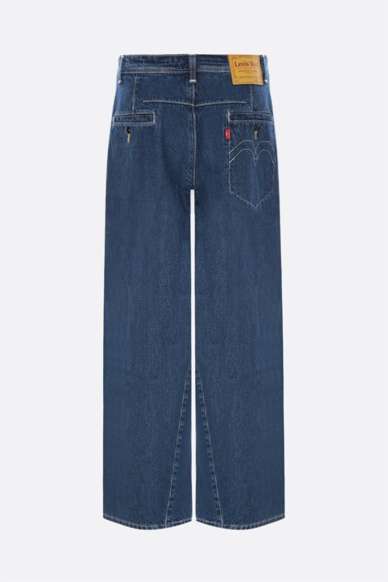 LEVI'S MADE & CRAFTED: jeans Levi's® Red twisted baggy Colore Blue_2
