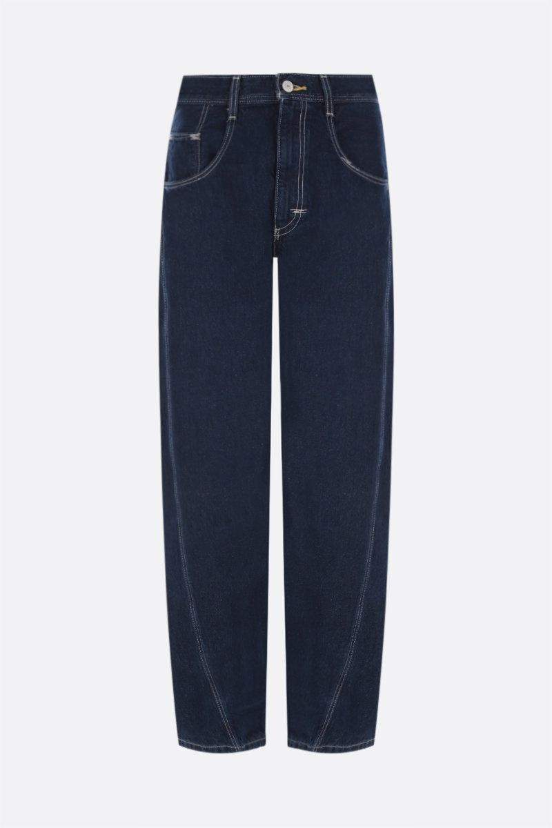 LEVI'S MADE & CRAFTED: Levi's® Red twisted loose jeans Color Blue_1