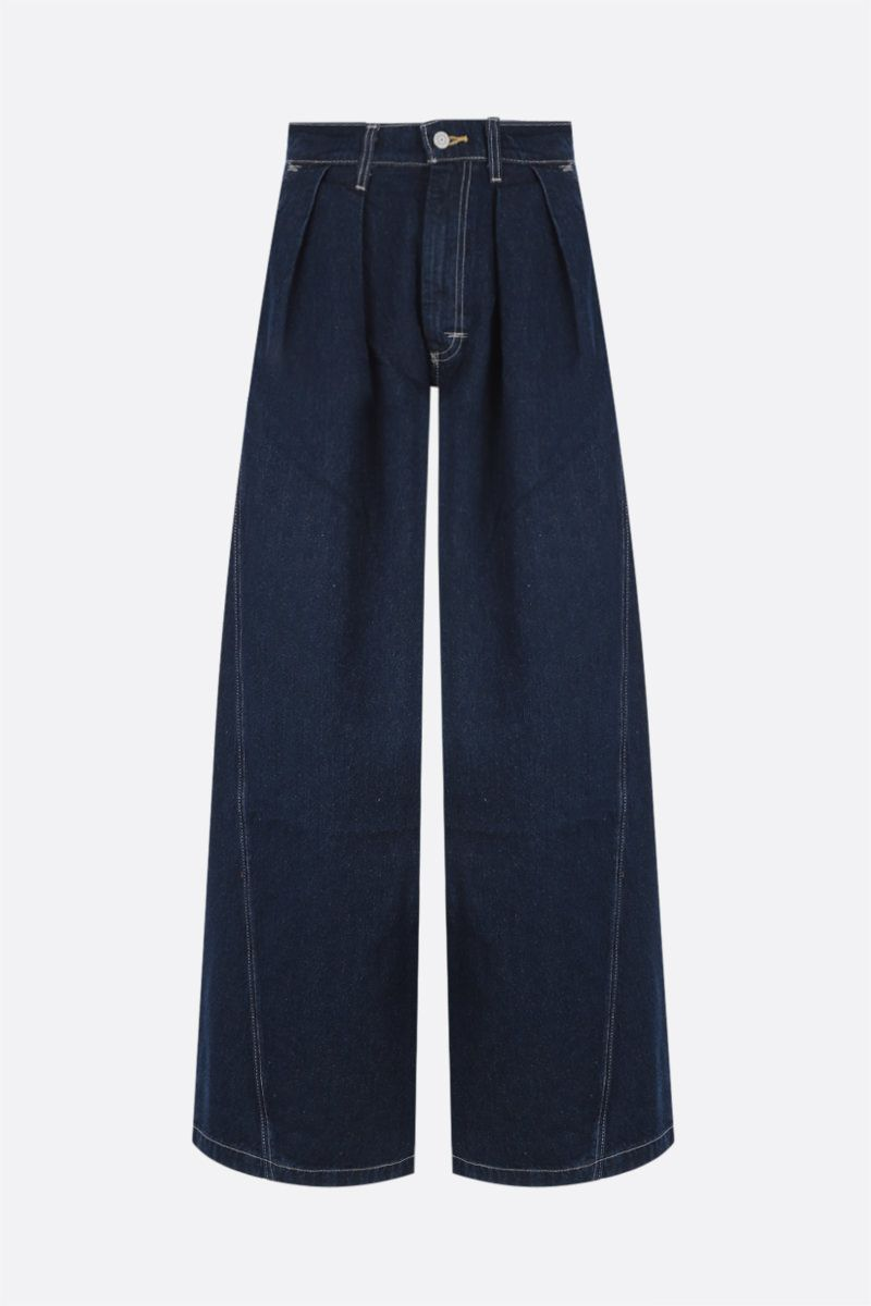 LEVI'S MADE & CRAFTED: Levi's® Red wide-leg jeans Color Blue_1