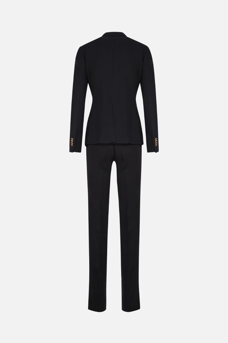 TAGLIATORE: Alicya wool blend two-piece suit Color Black_2