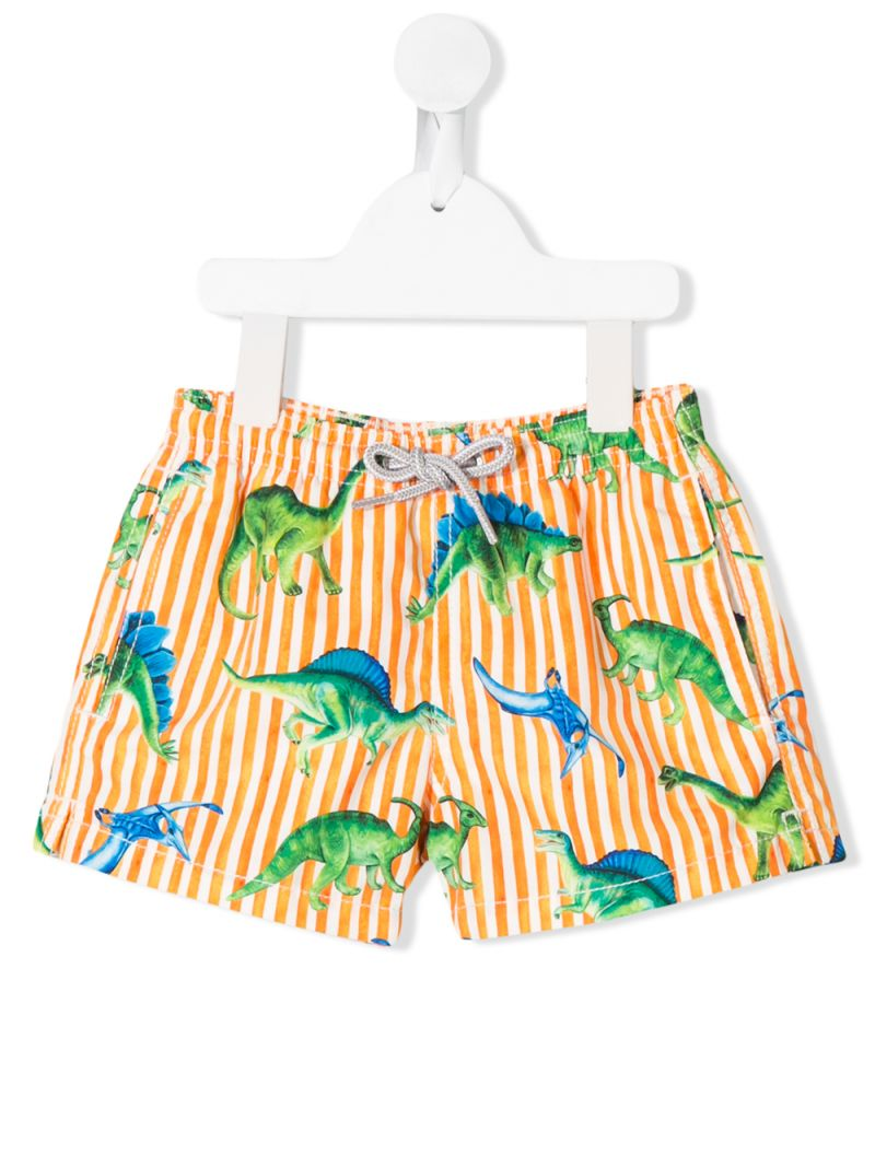 MC2 Saint Barth: dinosaurs print nylon swim shorts Color Multicolor_1