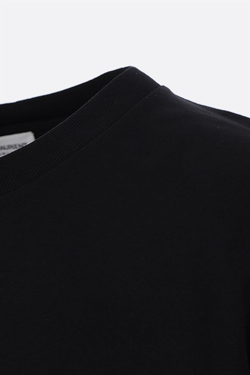 SAINT LAURENT: Saint Laurent print cotton t-shirt Color Black_3