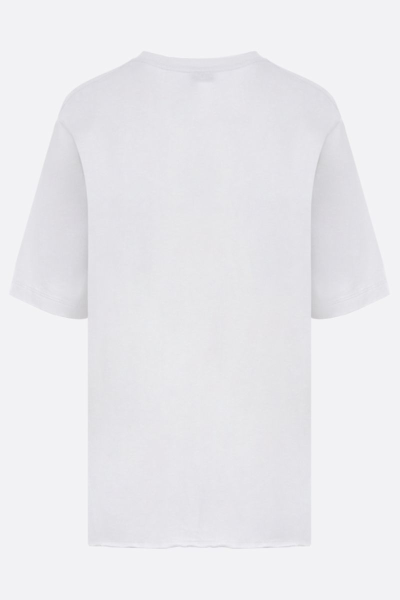 SAINT LAURENT: graphic print cotton t-shirt Color Multicolor_2