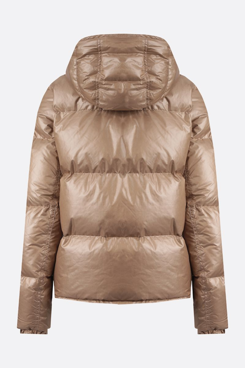 PARAJUMPERS: Regan nylon down jacket Color Neutral_2