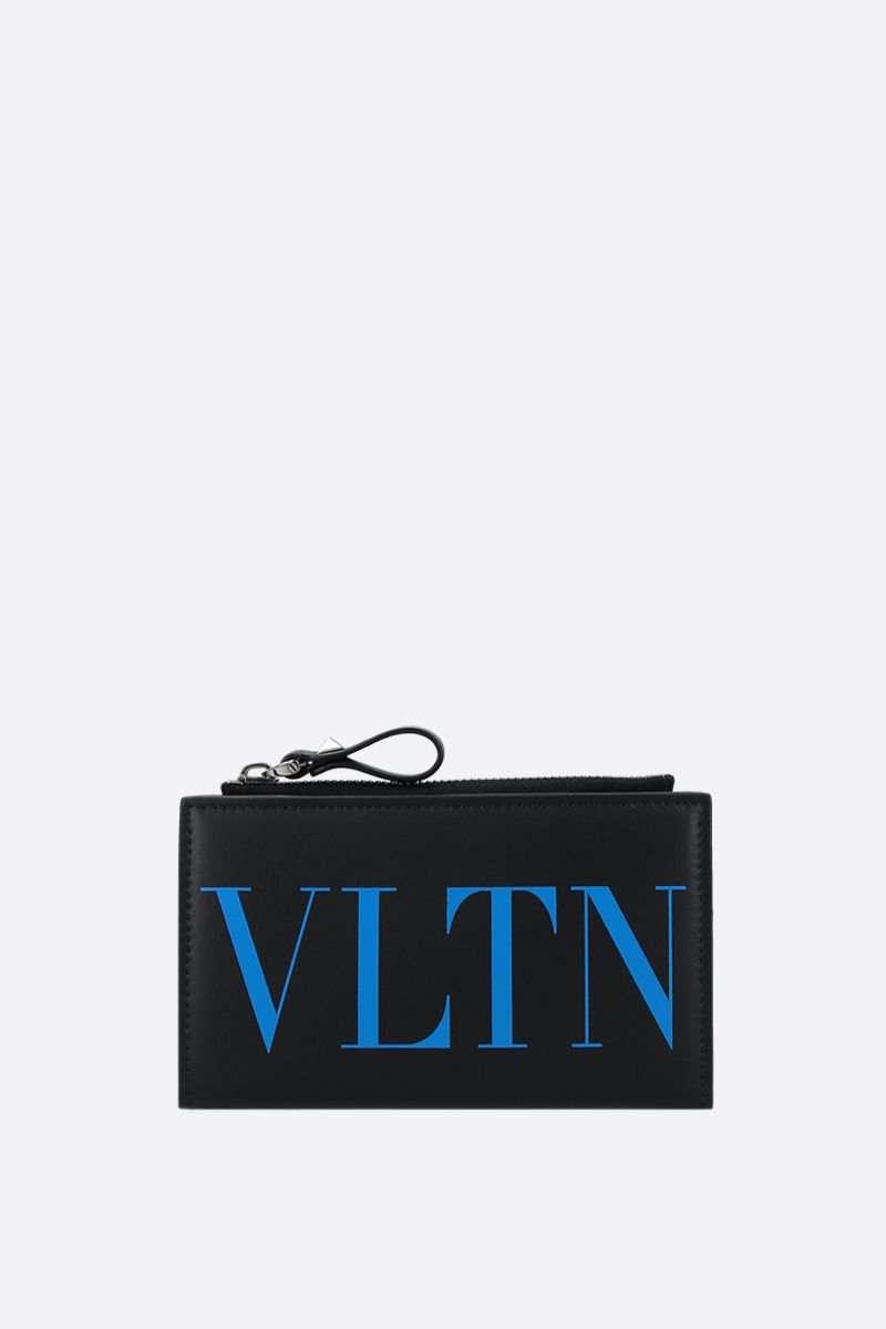 VALENTINO GARAVANI: VLTN smooth leather card case_1