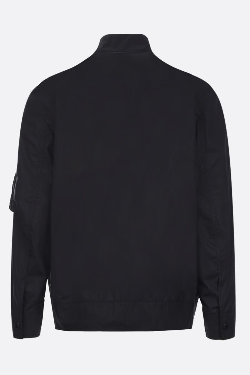 VALENTINO: VLOGO Dreamers nylon bomber jacket Color Black_2