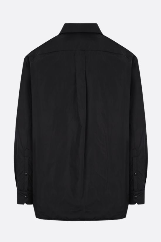 VALENTINO: VLTN TAG-detailed nylon padded overshirt Color Black_2