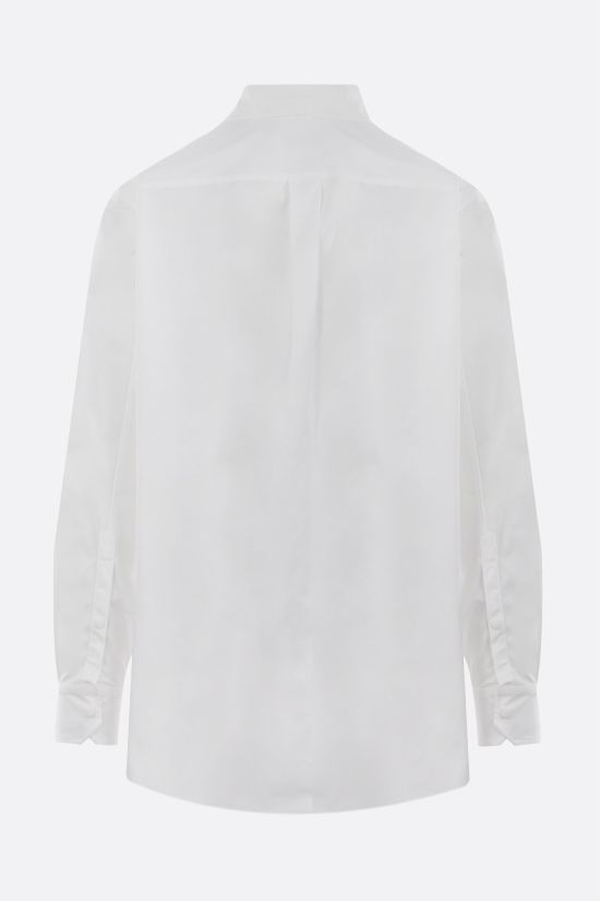 VALENTINO: VLTN Multicolor print nylon overshirt Color White_2