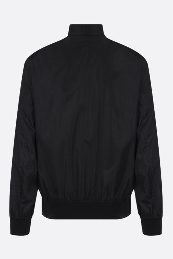 VALENTINO: Valentino print nylon bomber jacket Color Black_2