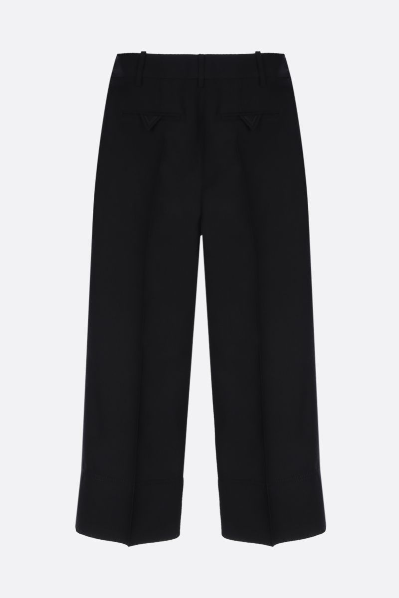 VALENTINO: cady cropped pants Color Black_2