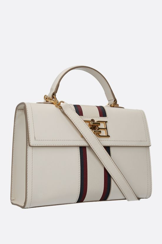 BALLY: Brettie smooth leather handbag Color Neutral_2