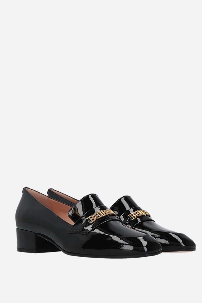 BALLY: Dahlia patent leather loafers Color Black_2