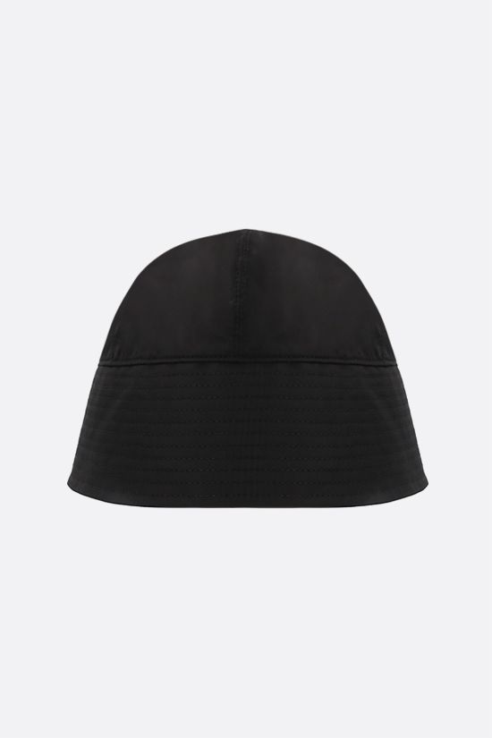 1017 ALYX 9SM: Rollercoaster-buckle nylon bucket hat Color Black_1
