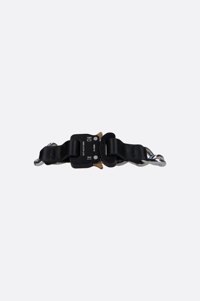 1017 ALYX 9SM: Rollecoaster chain bracelet Color Black_1