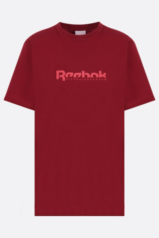 REEBOK X VICTORIA BECKHAM: Reebok Victoria Beckham cotton t-shirt Color Red_1