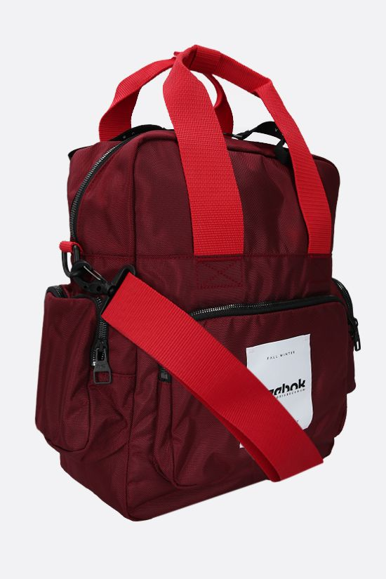 REEBOK X VICTORIA BECKHAM: Reebok Victoria Beckham recycled nylon backpack Color Red_2