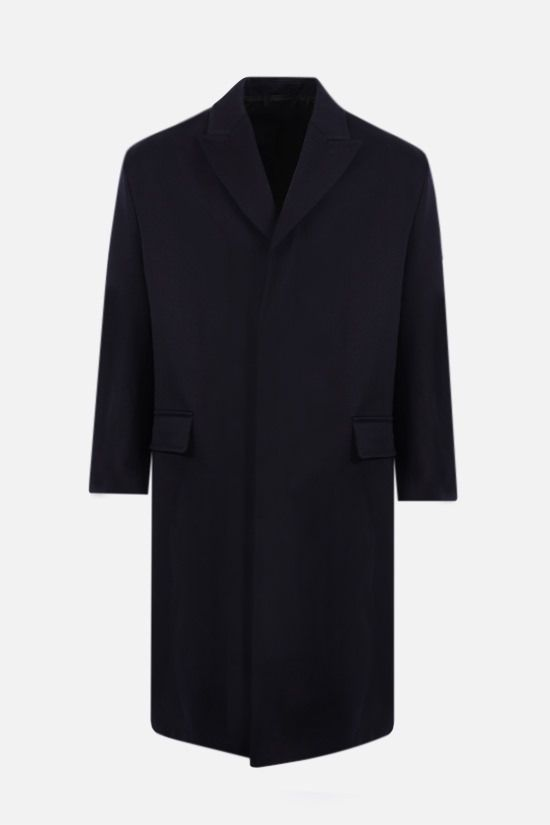 AMI PARIS: oversize cotton coat Color Blue_1