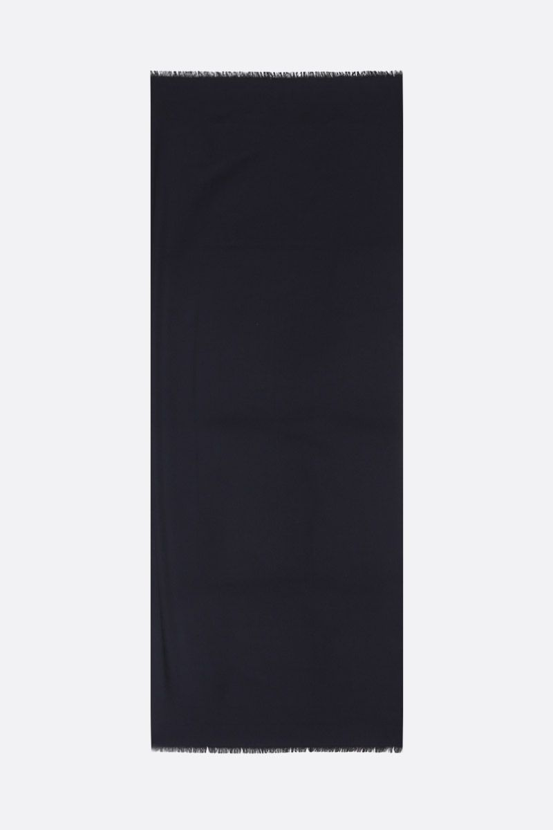 DOLCE & GABBANA: pure cashmere scarf Color Black_2