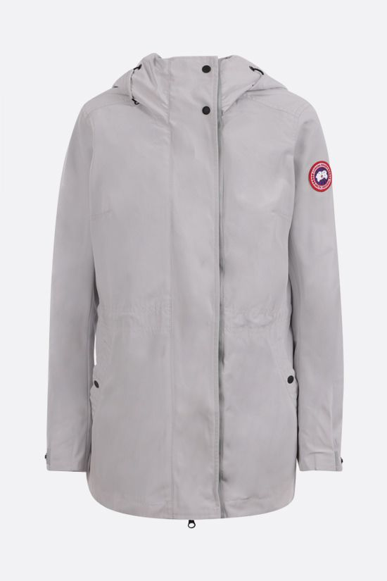 CANADA GOOSE: Minden nylon windbreaker Color Grey_1