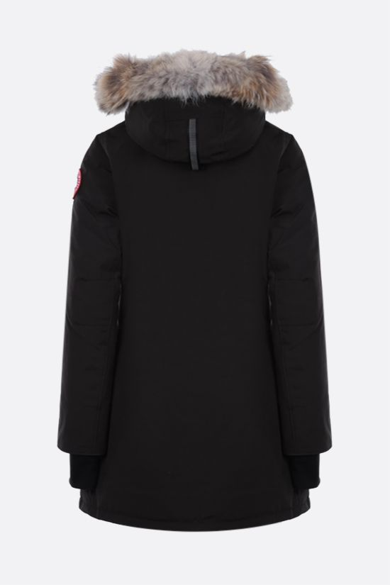 CANADA GOOSE: Rosemont technical canvas padded parka coat Color Black_2