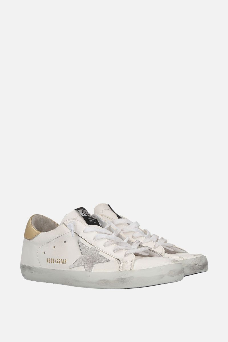 GOLDEN GOOSE DELUXE BRAND: Superstar sneaker in smooth leather Color White_2