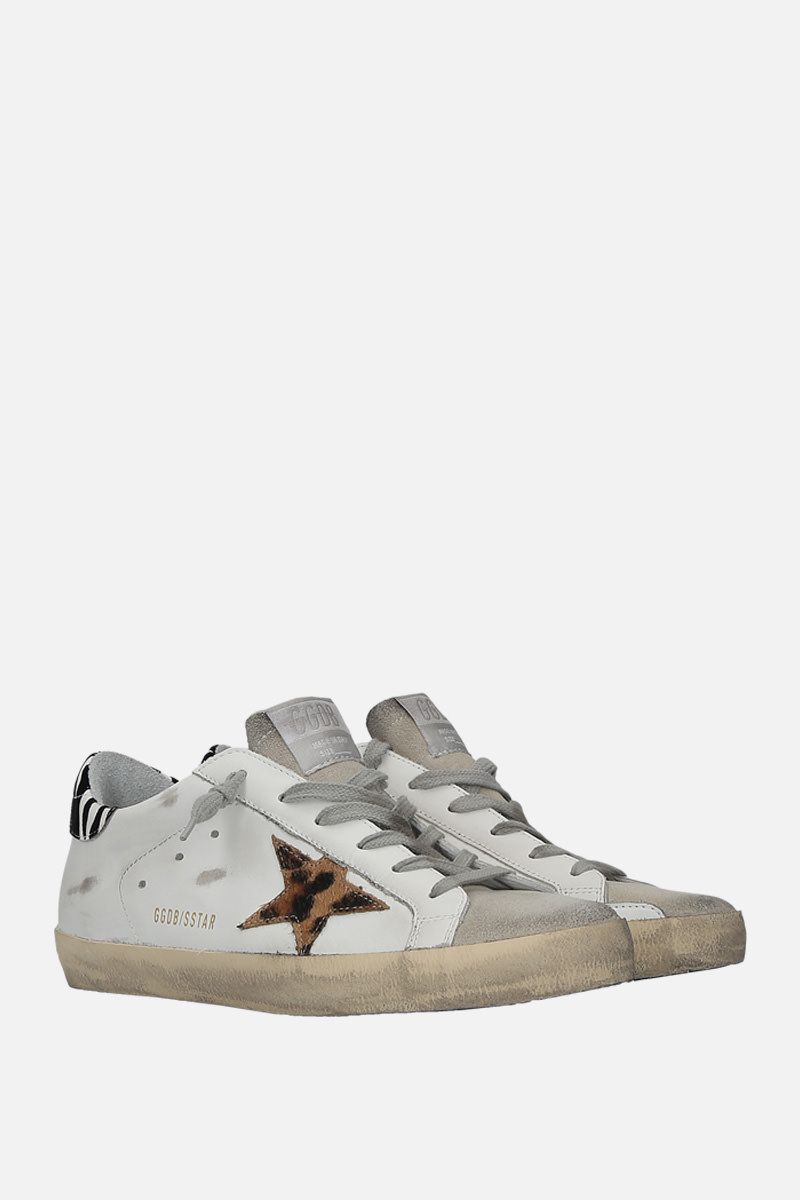 GOLDEN GOOSE DELUXE BRAND: Superstar sneakers in smooth leather and suede_2