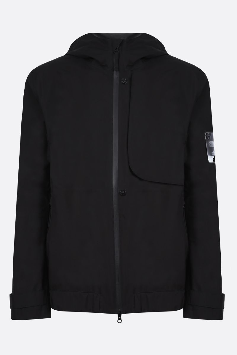 STONE ISLAND SHADOW PROJECT: Gore-Tex Paclite fabric windbreaker Color Black_1