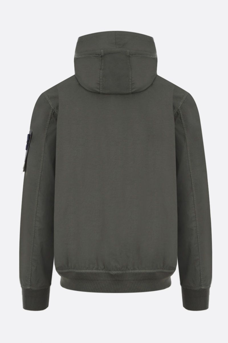 STONE ISLAND: Tightly Woven Nylon Twill-TC jacket Color Green_2