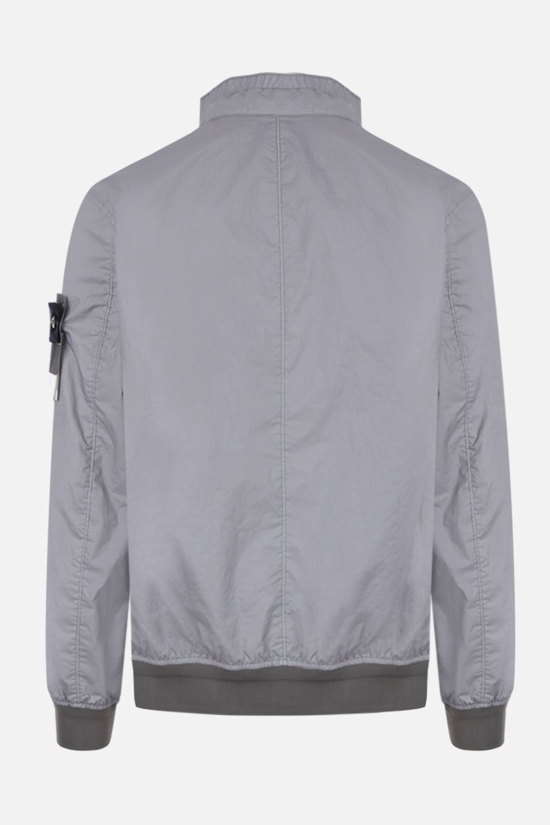 STONE ISLAND: Membrana 3L TC fabric bomber jacket Color Grey_2
