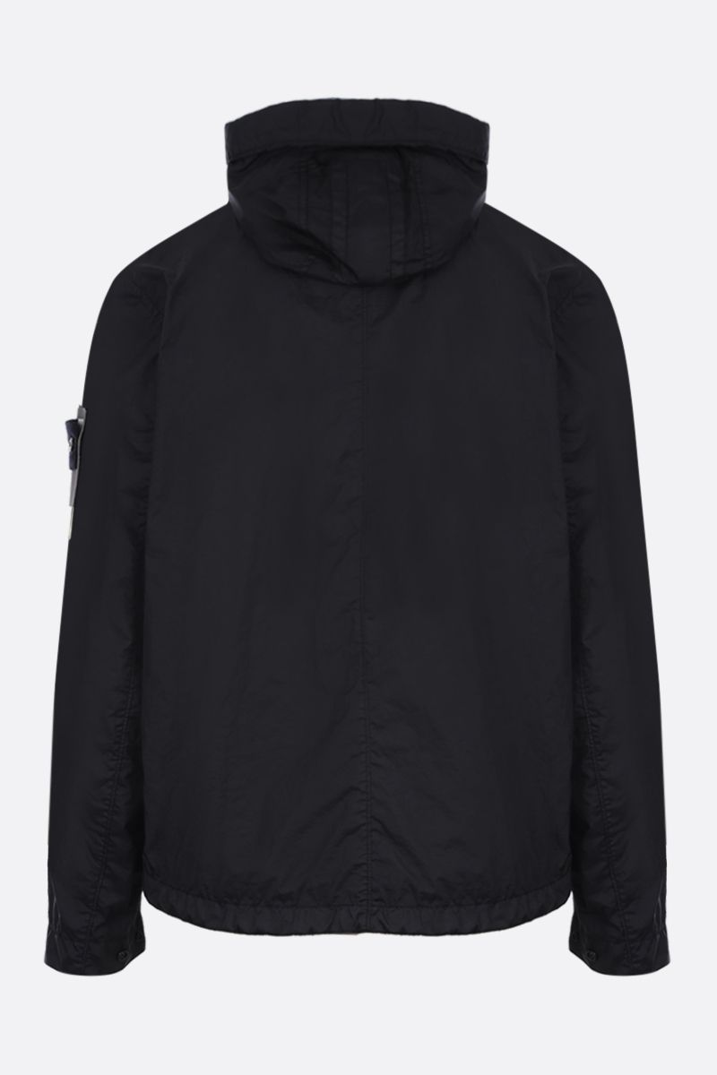 STONE ISLAND: Membrana 3L TC fabric windbreaker Color Black_2