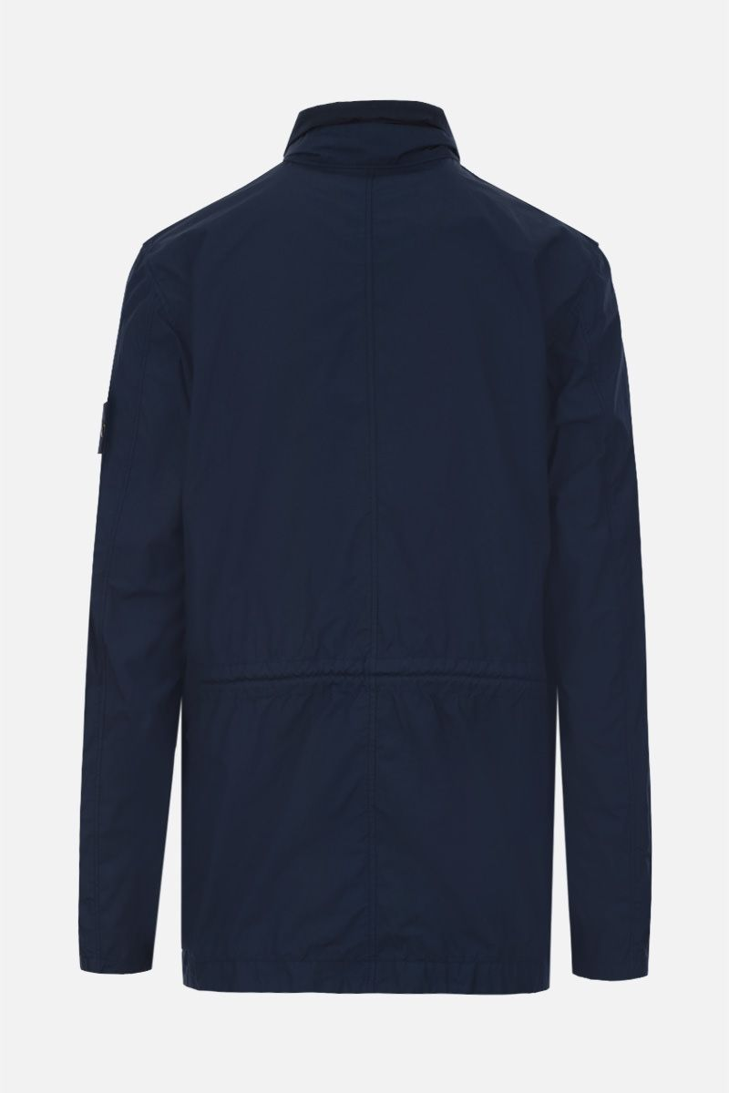 STONE ISLAND: Naslan Light Watro fabric jacket Color Blue_2