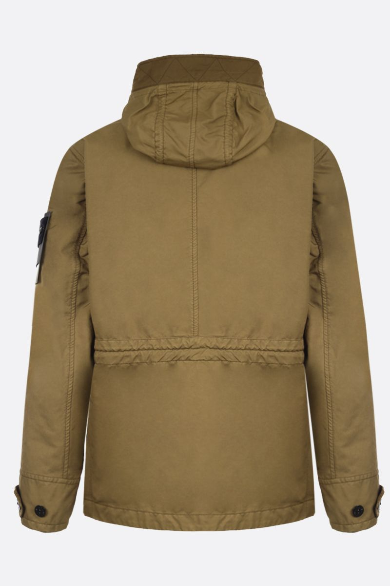 STONE ISLAND: David-TC fabric full-zip jacket Color Brown_2