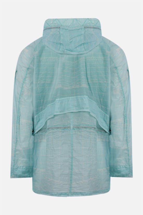 STONE ISLAND: Lamy-TC fabric windbreaker Color Blue_2