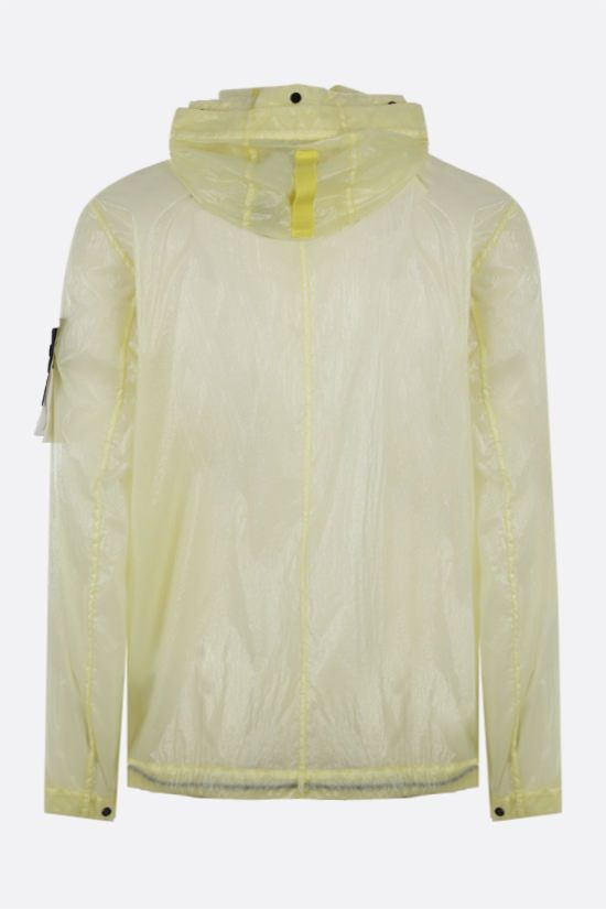 STONE ISLAND: Lucido-TC fabric windbreaker Color Yellow_2