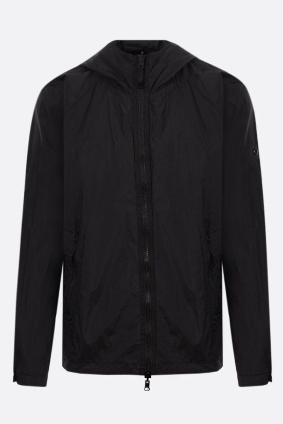 STONE ISLAND: Ghost Piece stretch wool and nylon reversible windbreaker Color Black_2