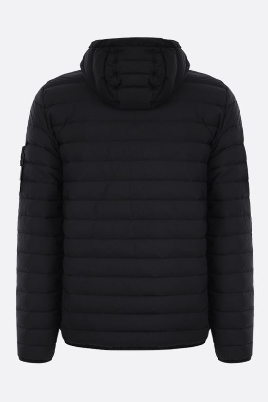 STONE ISLAND: Stretch Nylon-TC down jacket Color Black_2