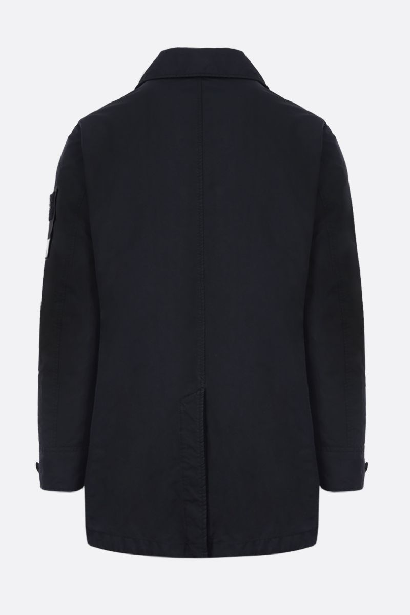 STONE ISLAND: DAVID-TC fabric padded single-breated trench coat Color Blue_2