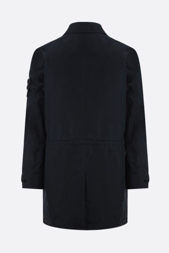 STONE ISLAND: Micro Reps fabric trench coat Color Blue_2