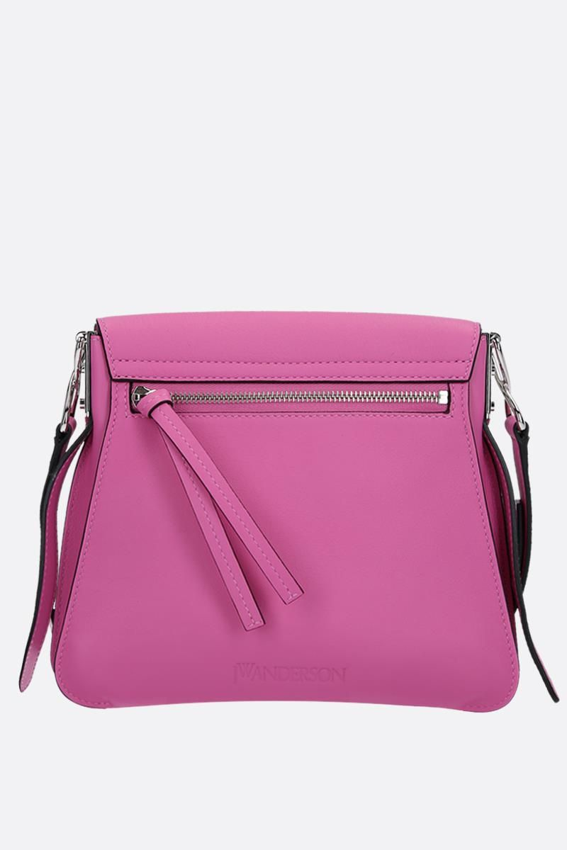 JW ANDERSON: Disc leather bag Color Pink_3
