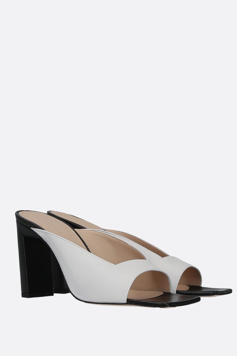 WANDLER: Isa mule sandals in soft nappa Color Black_2