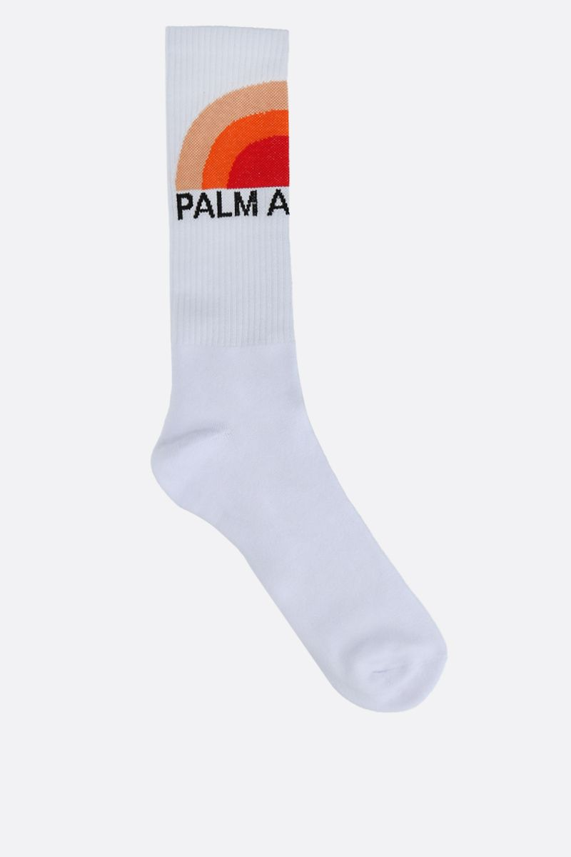 PALM ANGELS: Big Sunset terry socks Color Multicolor_1