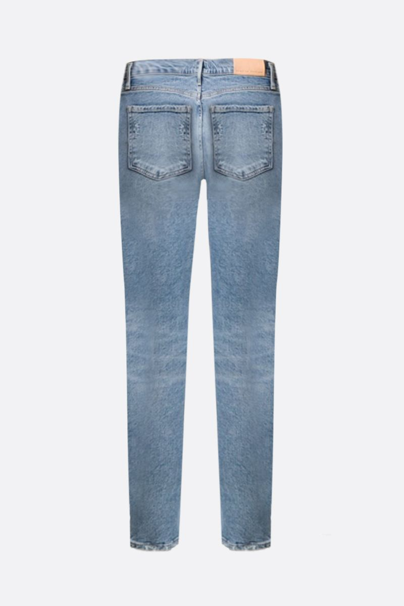 CITIZENS OF HUMANITY: Olivia cropped jeans Color Blue_2