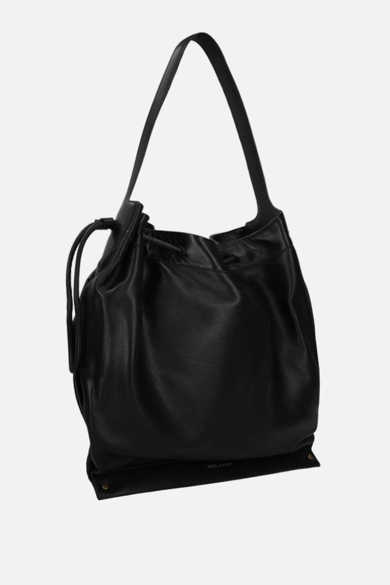 ISABEL MARANT: Sanky soft leather shoulder bag Color Black_2