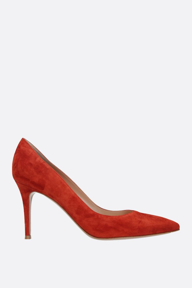 GIANVITO ROSSI: Gianvito suede pumps_1