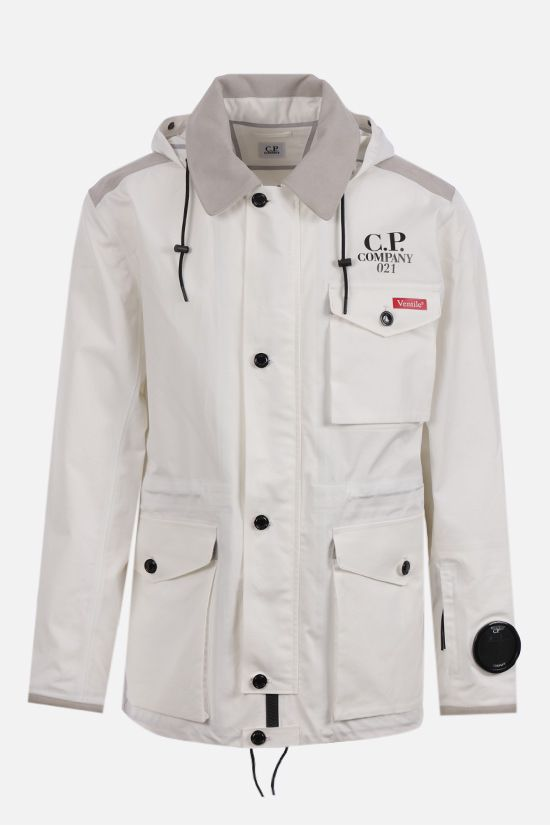 CP COMPANY: La Mille windbreaker in Ventile® fabric Color White_1